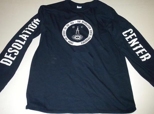 Desolation Center Long-Sleeve T-Shirt (Blue)