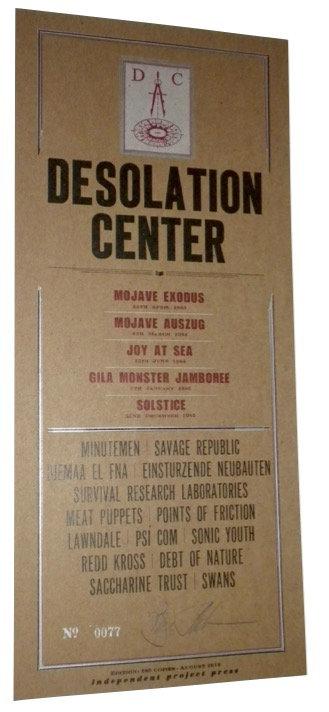 Desolation Center Art Card