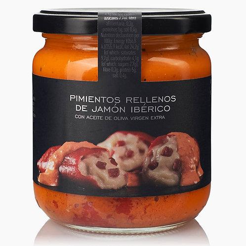 Pimientos au jambon ibérico 300g - LA CHINATA