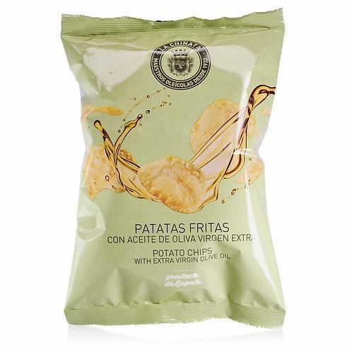"""Patatas fritas """"Chips"""" 100g - La Chinata"""