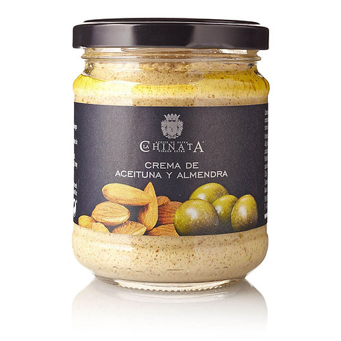 """Crème onctueuse """"Olives & Amendes"""""""