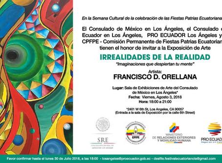 """Ecuador Exhibition:  """"Irrealidades de la Realidad: Imaginaciones que despiertan tu mente"""""""