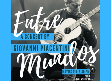 Entre Mundos/Between Worlds.  A concert by Giovanni Piacentini