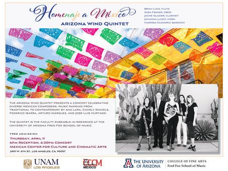 "Homenaje a México, ""Tribute to Mexico"" - Arizona Wind Quintet"