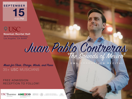 Juan Pablo Contreras The Sounds of Mexico