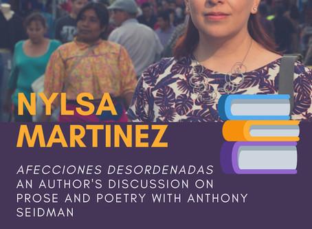 Literary Series No.1: Nylsa Martinez
