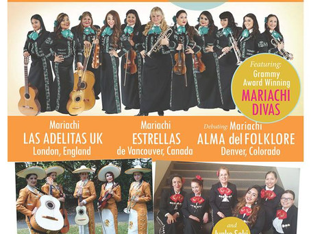 5th Annual Mariachi Femenil Festival in LA