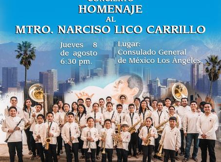 Concierto Homenaje al Mtro. Narcisco Lico Carrillo