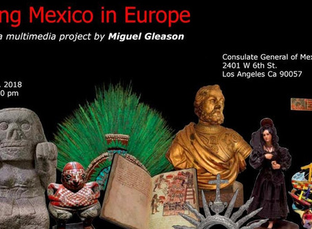 """""""Amazing Mexico in Europe"""" a book and multimedia by Miguel Gleason"""