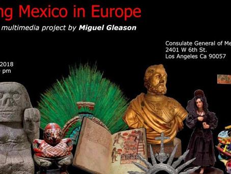 """Amazing Mexico in Europe"" a book and multimedia by Miguel Gleason"