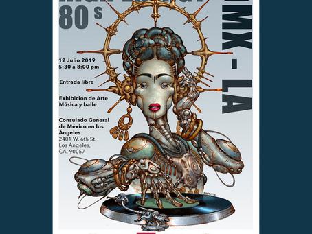 """""""Movimiento High Energy 80's"""" Exposición artística: por Raúl Cruz Figueroa """"RACRUFI"""", Artista origin"""