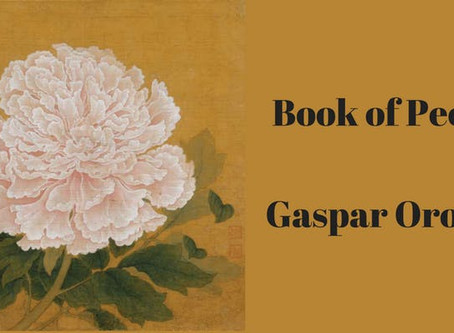 """Book of Peony"" by Gaspar Orozco"