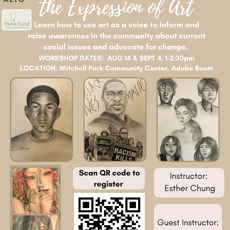 Social Justice Through the Expression of Art Workshop