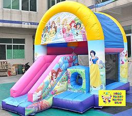 Disney princess bouncy castle Perth