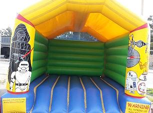 Teen/Adult Star Wars bouncy castle for adults cheap perth bouncy castle hire Swan Valley Castle Hire Ellenbrook bouncy castles