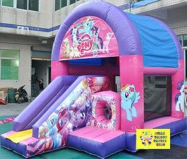 My Little Pony mini slide combo bouncy castle hire perth cheap bouncy castle hire Swan Valley Castle hire Ellenbrook bouncy castles