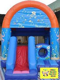 Under the sea mini slide combo bouncy castle hire perth cheap bouncy castle hire Swan Valley Castle hire Ellenbrook bouncy castles