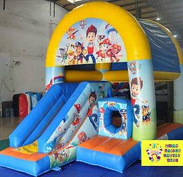 Paw Patrol mini slide combo bouncy castle hire perth cheap bouncy castle hire Swan Valley Castle hire Ellenbrook bouncy castles