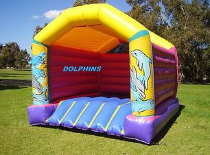 Teen/Adult Dolphin bouncy castle for adults cheap perth bouncy castle hire Swan Valley Castle Hire Ellenbrook bouncy castles