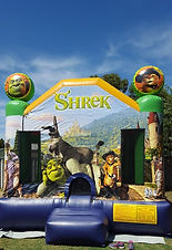Shrek bouncy castle hire perth cheap bouncy castle hire perth Swan Valley castle hire
