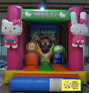 Multi mini combo bouncy castle hire perth chea bouncy castle hire Swan Valley Castle Hire Ellenbrook bouncy castles