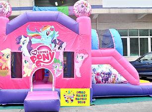 My little pony side slide bouncy castle hire Perth cheap bouncy castles Swan Valley Castle Hire Ellenbrook bouncy castles