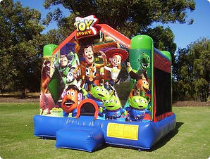 Toy Story bouncy castle hire perth cheap to story bouncy castle perth Swan Valley Castle Hire