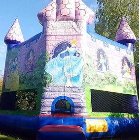 Disney Princess Castle bouncy castle hire perth cheap bouncy castle specials Swan Valley Castle Hire Ellenbook bouncy castles