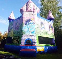 Disney Princess bouncy castle for adults cheap perth bouncy castle hire Swan Valley Castle Hire Ellenbrook bouncy castles