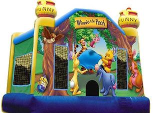 Winnie the Pooh bouncy castle hire perth cheap bouncy castle hire perth Swan Valley Castle Hire Ellenbrook bouncy castles