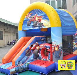 Blaze and the monster machines bouncy castle hire perth cheap jumping castles perth Swan Valley Castle Hire Ellenbrook bouncy castles