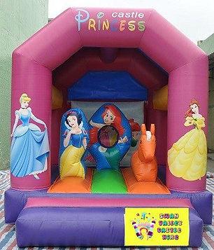 Princess mini combo bouncy catle hire perth cheap bouncy castle hire Swan Valley Castle Hire Ellenbrook bouncy castles