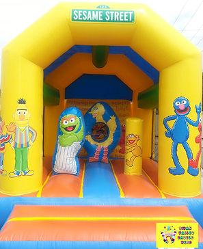 sesame street mini combo bouncy castle hire perth cheap bouncy castle hire Swan Valley Castle Hire Ellenbrook bouncy castles