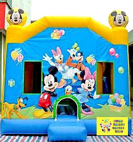 Mickey large combo bouncy castle hire perth cheap bouncy castles Swan Valley Castle Hire Ellenbrook bouncy castles