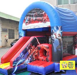 Star Wars mini slide combo bouncy castle hire perth cheap bouncy castle hire Swan Valley Castle hire Ellenbrook bouncy castles