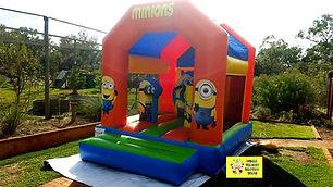 Minions mini combo bouncy castle hire perth cheap bouncy castle hire Swan Valley Castle Hire Ellenbrook bouncy castles