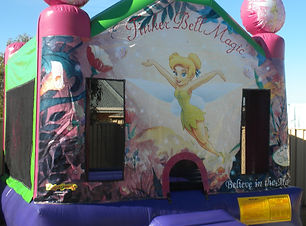 Tinkerbell bouncy castle hire perth cheap bouncy castles perth Swan Valley Castle Hire
