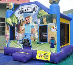 Minecraft bouncy castle hire perth cheap bouncy castle hire perh Ellenbrook bouncy castles