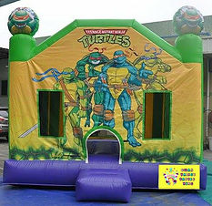 Ninja turtles bouncy castle hire perth cheap bouncy castle hire perth Swan valley bouncy castle hire