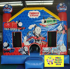 Thomas bouncy castle hire perth cheap bouncy castles perth Swan Valley Castle Hire Ellenbrook jumping castle