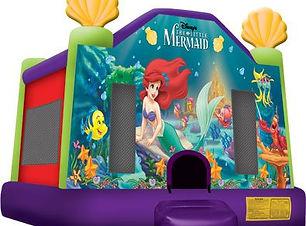 The Little Mermaid bounc castle cheap bouncy castle hire perth Ellenbrook bouncy castle hire