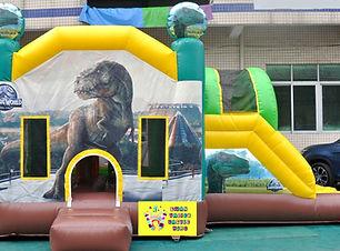 Jurassic World side slide bouncy castle hire Perth cheap bouncy castles Swan Valley Castle Hire Ellenbrook bouncy castles
