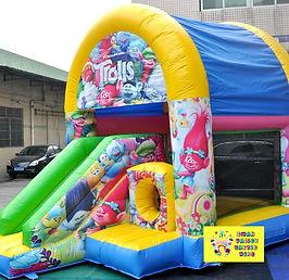 Trolls mini slide combo bouncy castle hire perth cheap bouncy castle hire Swan Valley Castle hire Ellenbrook bouncy castles