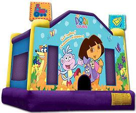 Dora bouncy castle cheap bouncy castle hire perth Ellenbrook bouncy castle hire