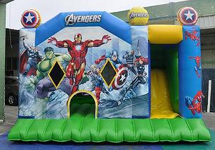 Avengers bouncy castle hire Perth