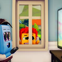 Finn Plays Video Games