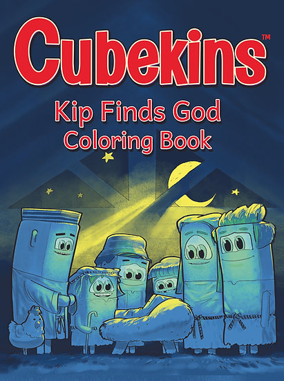Cubekins Coloring Book: Kip Finds God (Digital)
