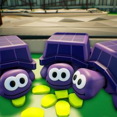 Kara's Turtles Tasting Cubecumber Seeds