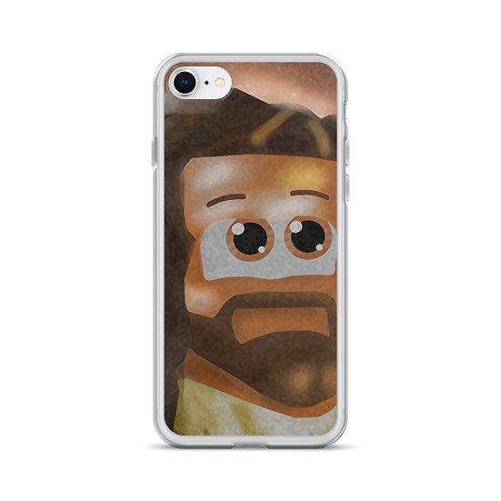 Cube Jesus iPhone Case