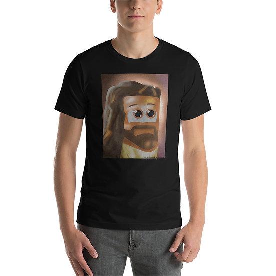 Cube Jesus Short-Sleeve Unisex T-Shirt